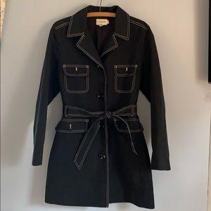 EUC j.crew trench coat size 10